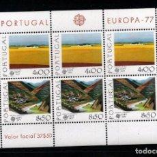 Sellos: PORTUGAL 1977 EUROPA CEPT MI.B20 MNH CE.022. Lote 218149773