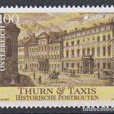 Sellos: 14.- AUSTRIA 2020 EUROPA 2020 - RUTAS POSTALES HISTÓRICAS THURN Y TAXIS. Lote 218292986