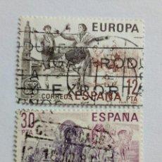 Sellos: EUROPA CEPT,SPAIN 1981. USADO. Lote 218305852