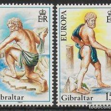 Sellos: GIBRALTAR 1981 EUROPA CEPT NUEVO MNH. Lote 219235493