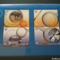 Sellos: HB DE R. ESLOVENIA NUEVA/2005/50ANIV/1A/EMISION/EUROPA/CEPT/FILATELIA/ELEFANTE/ANIMALES/LUPA/PAISAJE. Lote 222649743