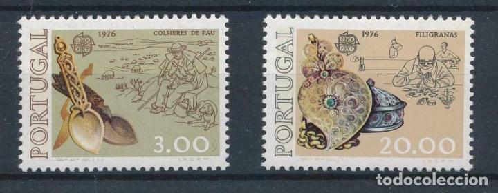 PORTUGAL 1976 IVERT 1291/2 *** EUROPA - OBRAS ARTESANALES (Sellos - Temáticas - Europa Cept)