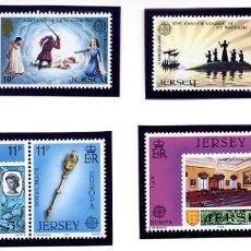 Sellos: JERSEY - LOTE: EUROPA 1981 + EUROPA 1983 - NUEVOS. Lote 231439085