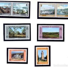 Sellos: GUERNSEY - EUROPA 1983 YVERT 267/70 +BAILIWICK OF GUERNSEY EUROPA 1977 + 1978 - NUEVOS. Lote 231439600