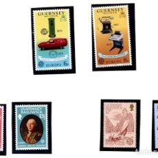 Sellos: GUERNSEY BAILIWICK - TEMA EUROPA - 1979 + 1980+ 1981 - NUEVOS. Lote 231441640