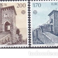 Sellos: LOTE DE SELLOS NUEVOS - SAN MARINO 1978 - EUROPA - AHORRA GASTOS COMPRA MAS SELLOS. Lote 233603025