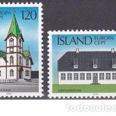 Sellos: LOTE DE SELLOS NUEVOS - ISLANDIA 1978 - EUROPA - AHORRA GASTOS COMPRA MAS SELLOS. Lote 233603710