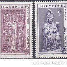 Sellos: LOTE DE SELLOS NUEVOS - LUXEMBURGO 1978 - EUROPA - AHORRA GASTOS COMPRA MAS SELLOS. Lote 233604480
