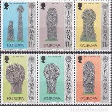 Sellos: LOTE DE SELLOS NUEVOS - ISLA DE MAN 1978 - EUROPA - AHORRA GASTOS COMPRA MAS SELLOS. Lote 233604710