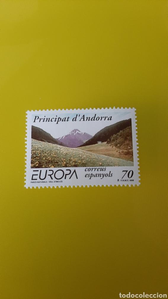 ANDORRA ESPAÑOLA ESPAÑA 1999 EDIFIL 272 EUROPA FILATELIA COLISEVM COLECCIONISMO (Sellos - Temáticas - Europa Cept)