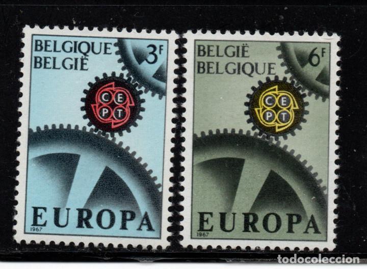 BÉLGICA 1415/16** - AÑO 1967 - EUROPA (Sellos - Temáticas - Europa Cept)