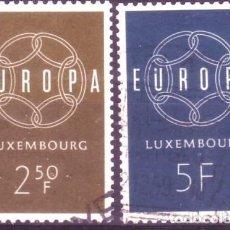 Sellos: LUXEMBURGO 567/8 EUROPA CEPT. Lote 235636770