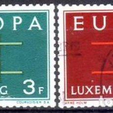 Sellos: LUXEMBURGO 634/5 EUROPA CEPT. Lote 235637135