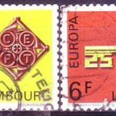 Sellos: LUXEMBURGO 724/5 EUROPA CEPT. Lote 235637315