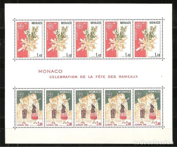Sellos: LOTE TEMA EUROPA 1981, UNA SERIE DE CADA + HB DE PORTUGAL+MONACO+AZORES+MADEIRA (NO ES AÑO COMPLETO) - Foto 3 - 235809470