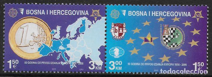 BOSNIA HERZEGOVINA 2005 ANIVERSARIO DE EUROPA CEPT NUEVO MNH (Sellos - Temáticas - Europa Cept)