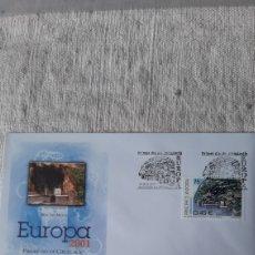 Sellos: EDIFIL 285 ANDORRA ESPAÑOLA EUROPA SFC A2 2001 FILATELIA COLISEVM NUMISMÁTICA. Lote 236884190