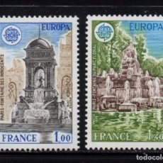 Sellos: FRANCIA 2008/09** - AÑO 1978 - EUROPA - MONUMENTOS. Lote 268174099