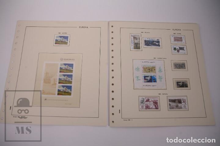 Sellos: Colección Tema Europa Año 1983 Nuevo - Temática Grandes Obras e Inventos - Valor Cat. Yvert 288 € - Foto 2 - 242090410