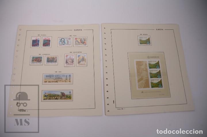 Sellos: Colección Tema Europa Año 1983 Nuevo - Temática Grandes Obras e Inventos - Valor Cat. Yvert 288 € - Foto 4 - 242090410