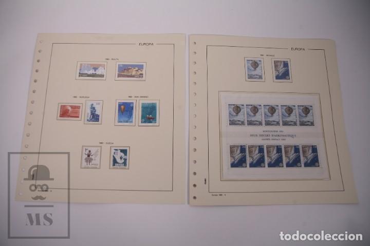 Sellos: Colección Tema Europa Año 1983 Nuevo - Temática Grandes Obras e Inventos - Valor Cat. Yvert 288 € - Foto 5 - 242090410