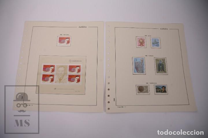 Sellos: Colección Tema Europa Año 1983 Nuevo - Temática Grandes Obras e Inventos - Valor Cat. Yvert 288 € - Foto 6 - 242090410