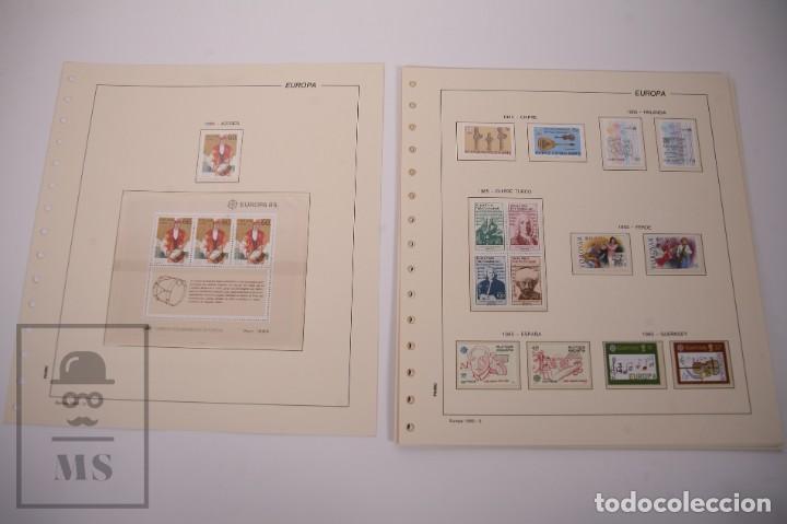 Sellos: Colección Tema Europa Año 1985 Nuevo - Temática Año Europeo de la Música - Valor Cat. Yvert 275 € - Foto 2 - 242093475