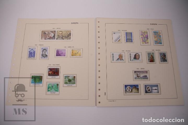 Sellos: Colección Tema Europa Año 1985 Nuevo - Temática Año Europeo de la Música - Valor Cat. Yvert 275 € - Foto 3 - 242093475