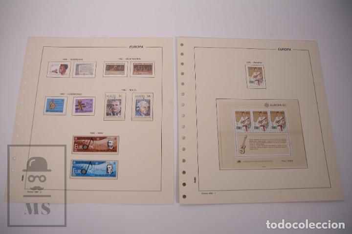 Sellos: Colección Tema Europa Año 1985 Nuevo - Temática Año Europeo de la Música - Valor Cat. Yvert 275 € - Foto 4 - 242093475