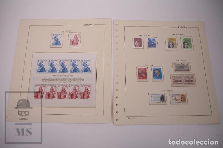 Sellos: Colección Tema Europa Año 1985 Nuevo - Temática Año Europeo de la Música - Valor Cat. Yvert 275 € - Foto 5 - 242093475