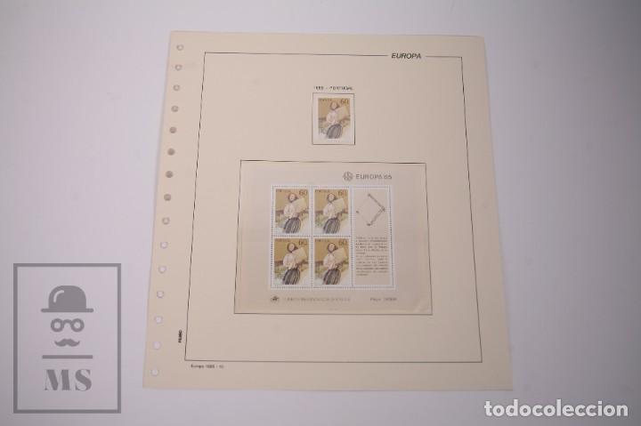 Sellos: Colección Tema Europa Año 1985 Nuevo - Temática Año Europeo de la Música - Valor Cat. Yvert 275 € - Foto 6 - 242093475
