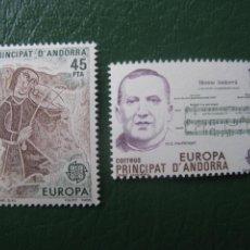 Timbres: +ANDORRA, 1985, EUROPA, EDIFIL 184/85. Lote 244945750