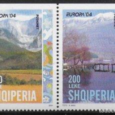 Sellos: ALBANIA 2004 EUROPA CEPT SET B DEL CARNET NUEVO MNH. Lote 245054695