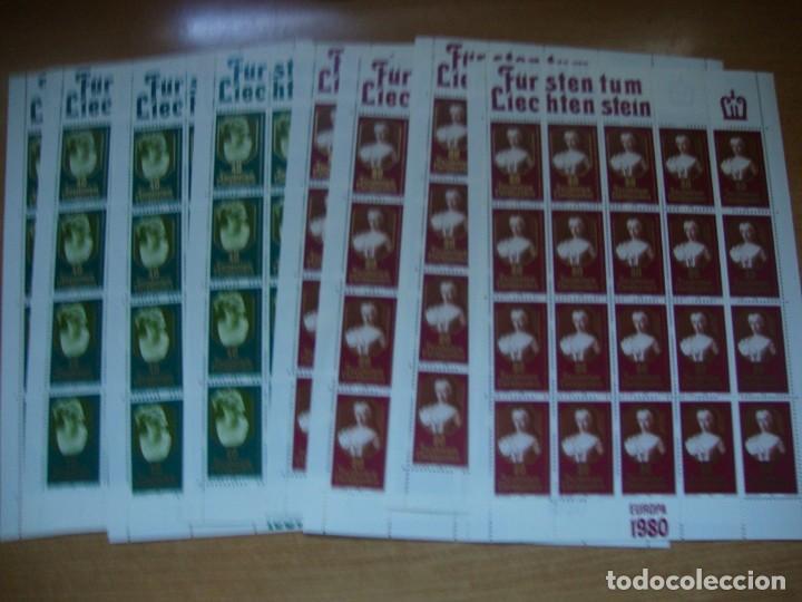 Sellos: TEMA EUROPA AÑO 1980 BLOQUE DE 4 Y MAS VER FOTOS Y DESCRIPCION - Foto 8 - 247179755