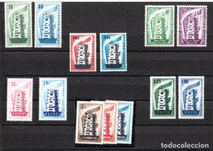 EUROPA CEPT 1956 AÑO COMPLETO ** (Sellos - Temáticas - Europa Cept)