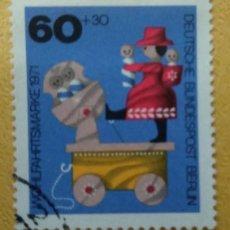 Francobolli: ALEMANIA BERLÍN 1971. YT:DE-BE 377,. Lote 253264730
