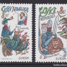 Sellos: REPÚBLICA CHECA 1997 - EUROPA CEPT SERIE NUEVA SIN FIJASELLOS. Lote 253770030
