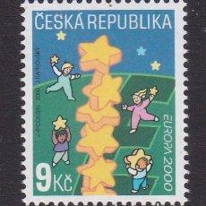 Sellos: REPÚBLICA CHECA 2000 - EUROPA CEPT SELLO NUEVO SIN FIJASELLOS. Lote 253770135