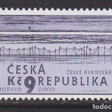 Sellos: REPÚBLICA CHECA 2001 - EUROPA CEPT SELLO NUEVO SIN FIJASELLOS. Lote 253770160