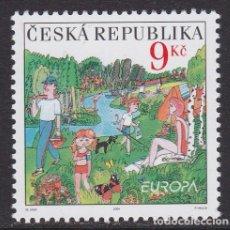 Sellos: REPÚBLICA CHECA 2004 - EUROPA CEPT SELLO NUEVO SIN FIJASELLOS. Lote 253770260
