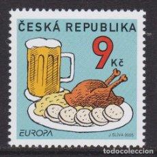Sellos: REPÚBLICA CHECA 2005 - EUROPA CEPT SELLO NUEVO SIN FIJASELLOS. Lote 253770295