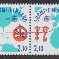 Sellos: FINLANDIA 1992 - EUROPA CEPT SERIE NUEVA SIN FIJASELLOS. Lote 253819685