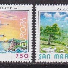 Sellos: SAN MARINO 1995 - EUROPA CEPT SERIE NUEVA SIN FIJASELLOS. Lote 253820400