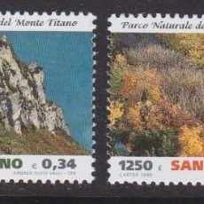 Timbres: SAN MARINO 1999 - EUROPA CEPT SERIE NUEVA SIN FIJASELLOS. Lote 253820565