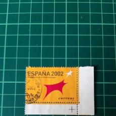 Sellos: ESPAÑA 2002 EDIFIL 3865/6 USADOS PRESIDENCIA COMUNICAD EUROPEA ESPAÑA 2002 FILATELIA COLISEVM. Lote 253978680