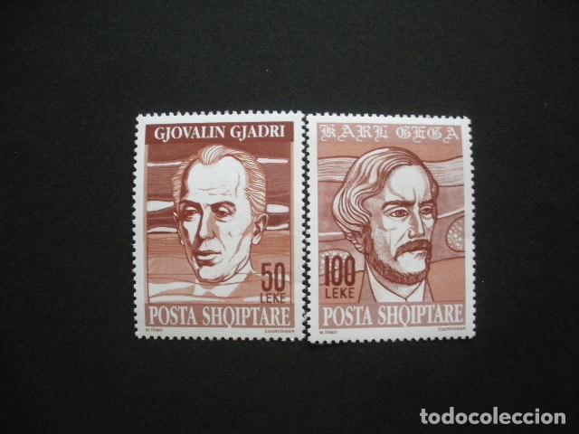ALBANIA 1994 IVERT 2308/9 *** EUROPA - EUROPA Y LOS DESCUBRIMIENTOS - PERSONAJES (Sellos - Temáticas - Europa Cept)