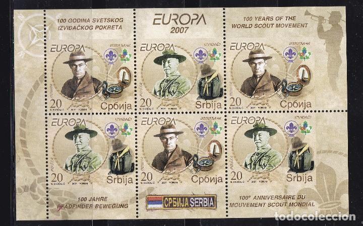 EUROPA400 SERBIA 2007 NUEVO ** MNH FACIAL (Sellos - Temáticas - Europa Cept)