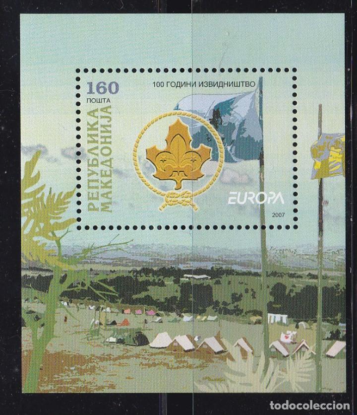 EUROPA404 MACEDONIA 2007 NUEVO ** MNH (Sellos - Temáticas - Europa Cept)