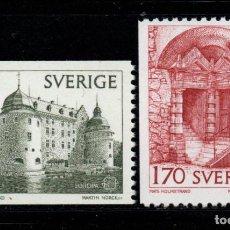 Sellos: SUECIA 996/97** - AÑO 1978 - EUROPA - MONUMENTOS. Lote 262780550