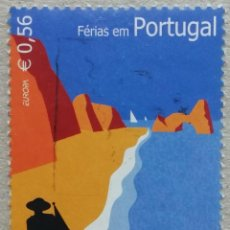 Timbres: 2004. PORTUGAL. 2802. TEMA EUROPA. VACACIONES EN LA PLAYA. USADO.. Lote 263610660